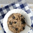 Blueberry Muffin Oatmeal Recipe…a healthy, filling, and quick breakfast idea!