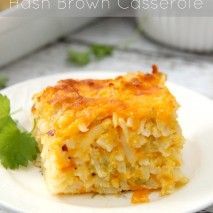 Mexican Hash Brown Casserole Recipe