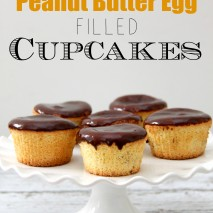 REESE'S Peanut Butter Egg Filled Cupcakes Recipe