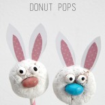Easter Bunny Donut Pops are such a super cute idea