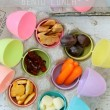 Easter Egg bento lunch or snack ideas…these are too cute