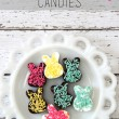 Adorable Chocolate Bunny Candies // Smashed Peas and Carrots