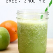 Spicy Green Smoothie Recipe