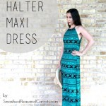 (30) Days of Sundresses: The Halter Maxi Dress Tutorial