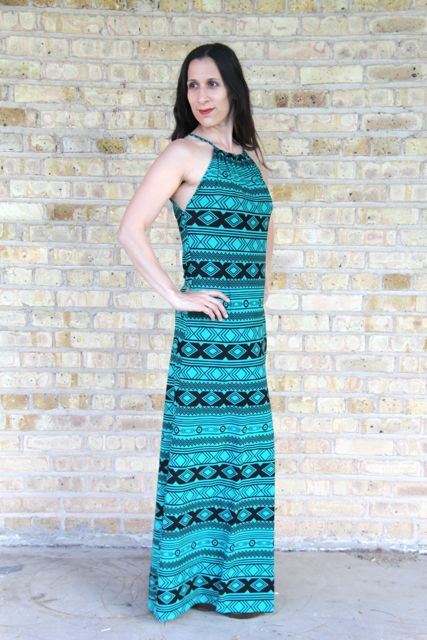 fceb806478 Smashed Peas · The Halter Maxi Dress Tutorial. Such a super cute dress!    Smashed  Peas