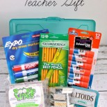 Back to School Teacher Gift Idea // SmashedPeasandCarrots.com