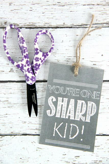 Back to School Student Gift Idea // SmashedPeasandCarrots.com
