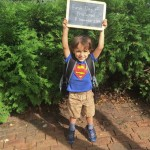 First Day of Preschool for Oliver!