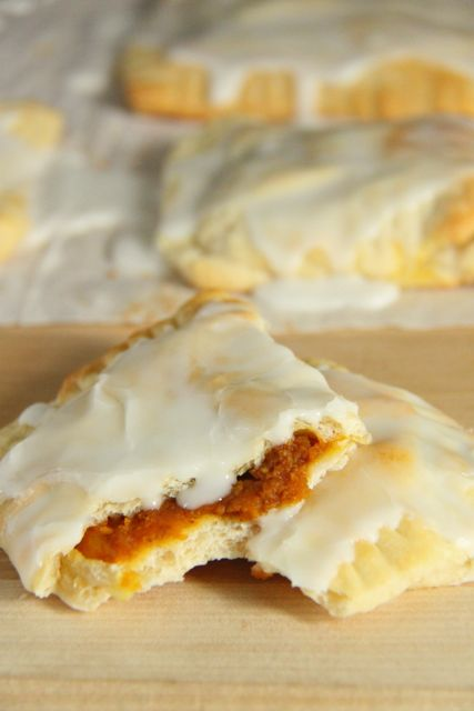 Easy and Delicious Pumpkin Pie Pop Tarts Recipe // SmashedPeasandCarrots.com