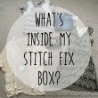 What's inside my Stitch Fix Box // SmashedPeasandCarrots.com