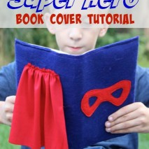 Super Hero Book Cover Tutorial