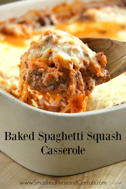 Baked Spaghetti Squash With Beef And Veggies Recipes — Dishmaps