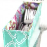 Riley Blake Design Team: Fabric Utensil Basket Tutorial