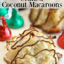 Hershey's Kisses Stuffed Coconut Macaroons Recipe