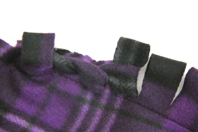 Braided Edge Fleece Blanket Tutorial Smashed Peas Carrots Magnificent Cute Fleece Throw Blankets