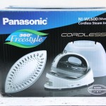 Panasonic Cordless 360° Freestyle™ Steam/Dry Iron Review