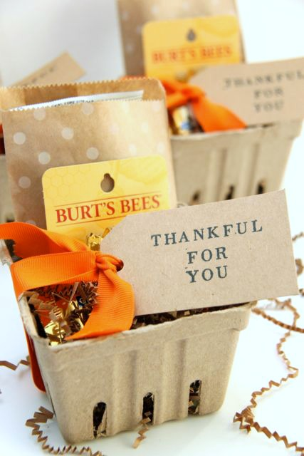 Thankful for You Gift Idea // SmashedPeasandCarrots.com