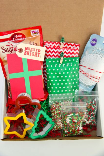 Christmas Cookie Party In A Box Gift Idea Smashed Peas Carrots