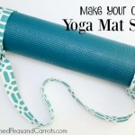 DIY Yoga Mat Sling Tutorial