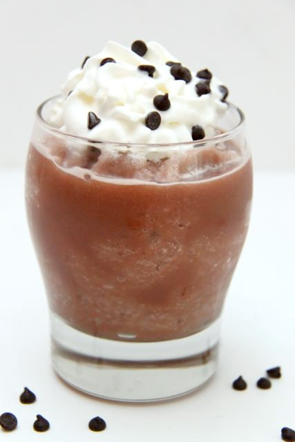 Easy Frozen Hot Chocolate // SmashedPeasandCarrots.com