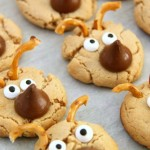 Recipe: Hershey's Kisses Peanut Butter Reindeer Cookies