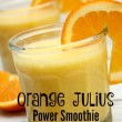 Orange Julius Power Smoothie Recipe // SmashedPeasandCarrots.com