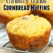Cranberry Orange Cornbread Muffins Recipe