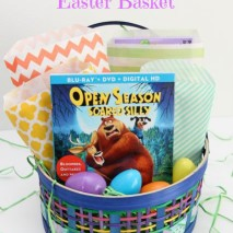 Family Movie Night Easter Basket Idea