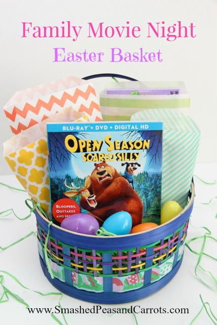 Family movie night easter basket idea smashed peas carrots family movie night easter basket smashedpeasandcarrots negle