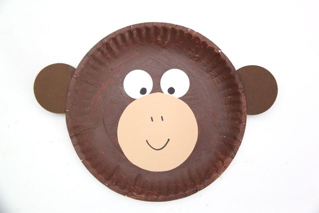 How To Make A Paper Plate Monkey Mask  sc 1 st  Psychology Origami & How To Make A Paper Plate Monkey Mask - psychologyarticles.info