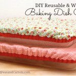 DIY Reusable and Washable Baking Dish Covers Tutorial