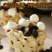Gluten Free Dairy Free Smores Cereal Treats Recipe
