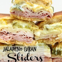 Jalapeño Cuban Sliders Recipe
