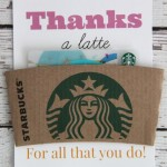 Thank You Gift Idea: Thanks a Latte in Pink