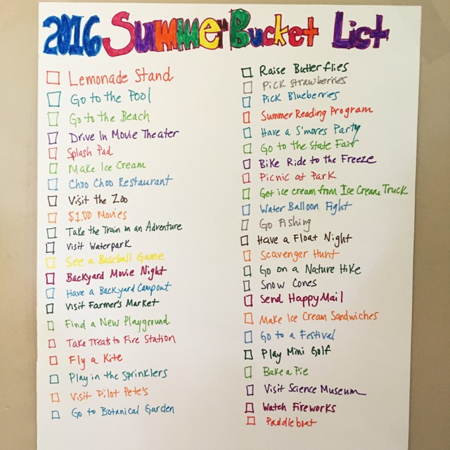 2016 Summer Bucket List - Smashed Peas & Carrots on games party ideas, fireworks party ideas, party party ideas, rags to riches party ideas, treasure hunt party ideas, hotel party ideas, around the world in 80 days party ideas, movies party ideas, team building party ideas, reading party ideas, mash party ideas, some like it hot party ideas, school party ideas, block party ideas, trick or treat party ideas, puppet show party ideas, over the top party ideas, swimming party ideas, capture the flag party ideas, home party ideas,