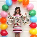 First Day of School Easy Balloon Arch