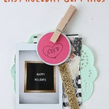 FujiFilm Instax Easy Holiday Gift Tags // SmashedPeasandCarrots.com