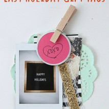 FujiFilm Instax Easy Holiday Gift Tags
