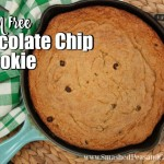 Gluten Free Chocolate Chip Pizookie Recipe // SmashedPeasandCarrots.com