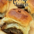 Easy French Dip Sliders Recipe // SmashedPeasandCarrots.com