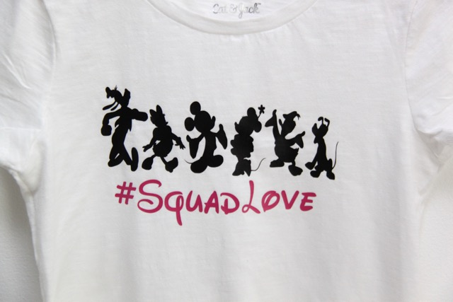 Disney Gang T-Shirt with Silhouette // SmashedPeasandCarrots.com