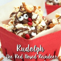 Rudolph the Red Nosed Reindeer Popcorn Mix