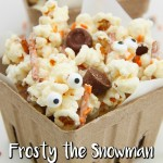 Frosty the Snowman Popcorn Mix Recipe