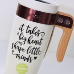 Silhouette Travel Mug Teacher Gift Idea