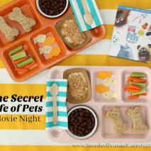 The Secret Life of Pets: Movie Night Snack Tray