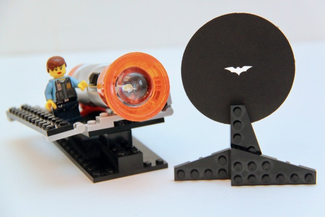 Lego Batman Signal Tutorial
