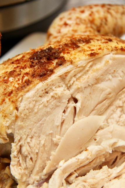 how to cook rotisserie chicken in instant pot
