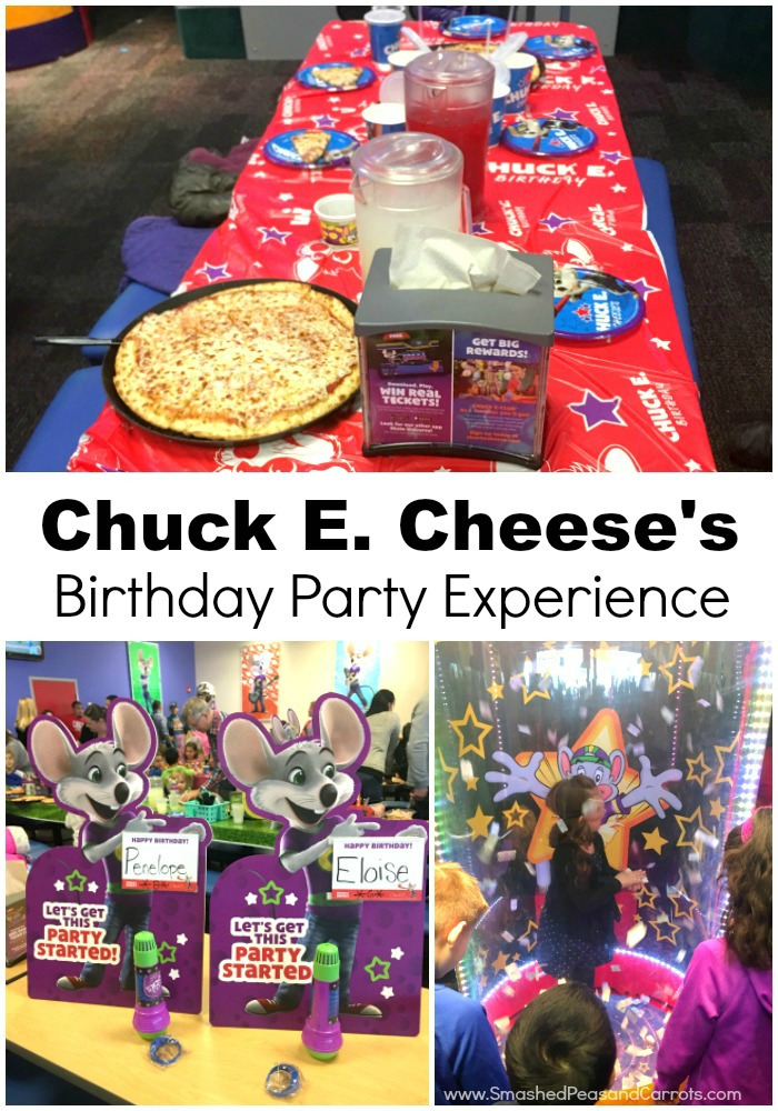 Chuck E. Cheese's Birthday Party
