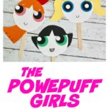 The Powerpuff Girls Paper Plate Face Masks