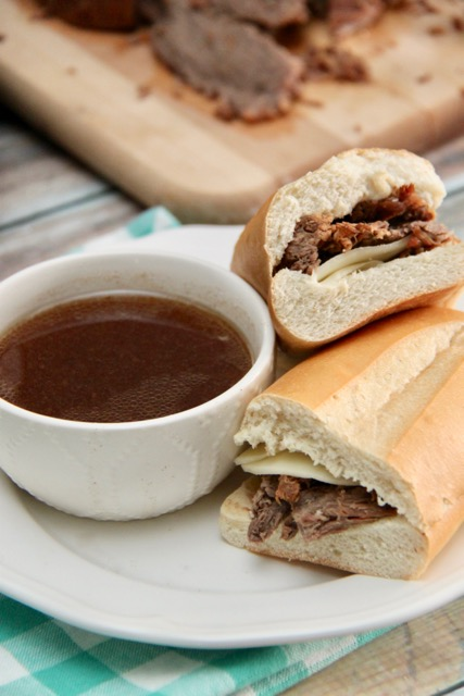 Easy Instant Pot French Dip Sandwiches